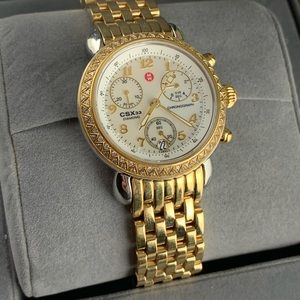 Michele CSX 33 MM Mother Of Pearl Watch
